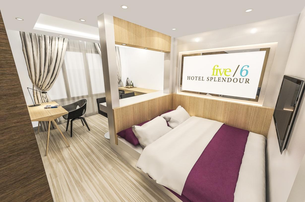 Deluxe Soho Room Queen Serta Bed Five 6 Hotel Splendour
